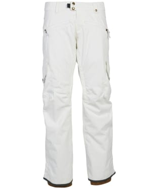 Women's 686 Mistress Insulated Snowboard Pants - White
