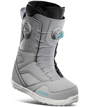 Women's ThirtyTwo Snowboard Boots STW Double Boa - Grey