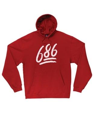 Men's 686 Emoji Hoody - Red
