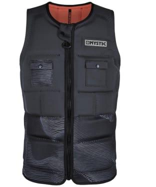 Men's Mystic Peacock Front Zip Impact Wake Vest - Grey