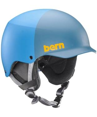 Bern Team Baker Helmet - Matte Cyan Blue