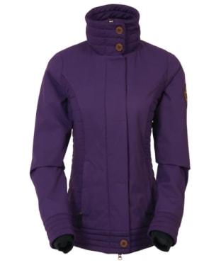 Women's 686 Easy Rider Snowboard Jacket - Violet