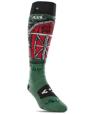 ThirtyTwo ASI Signature Stevens Snowboard Socks - Green