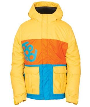 Boy's 686 Elevate Snowboard Ski Jacket - Yellow