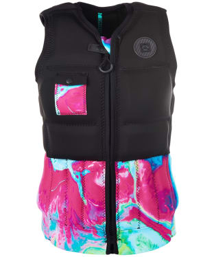 Women's Mystic Diva Front Zip Impact Wake Vest - Aurora