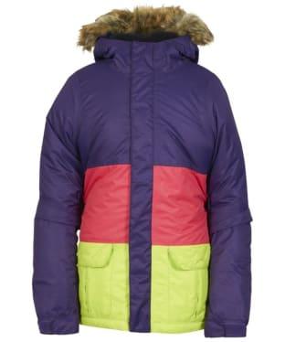Girl's 686 Polly Snowboard Ski Jacket - Violet