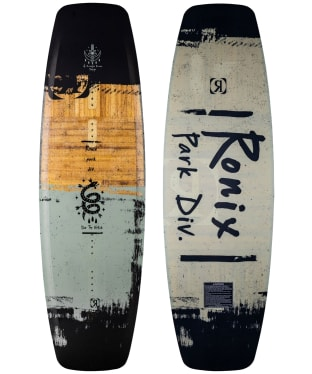 Ronix Wakeboard Top Notch - Black/Blue/Brown