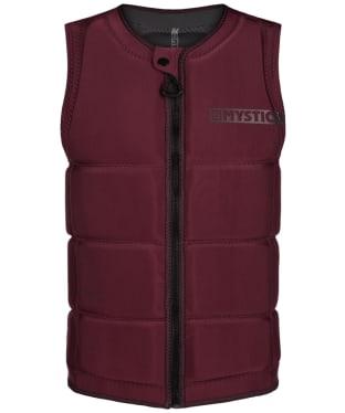 Men's Mystic Star Wake Front Zip Impact Wake Vest - Oxblood Red