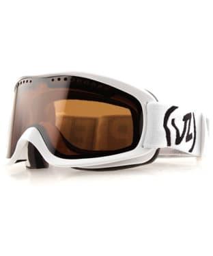 VonZipper Sizzle Snowboard Ski Goggles - White Gloss