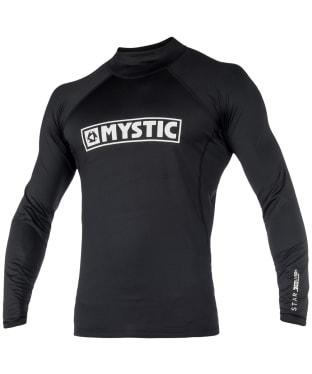 Men's Mystic Star Long Sleeve Rash Vest - Black