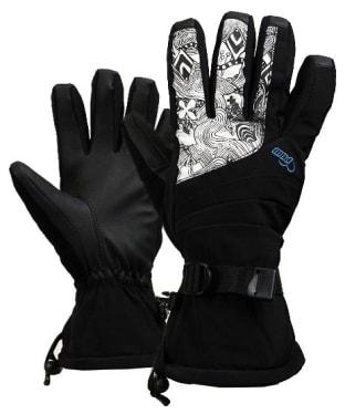 Women's Pow Falon Snowboard Ski Gloves - Blue