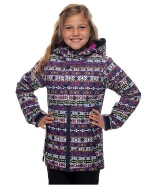 Girl's 686 Belle Nordic Snowboard Ski Jacket - Nordic