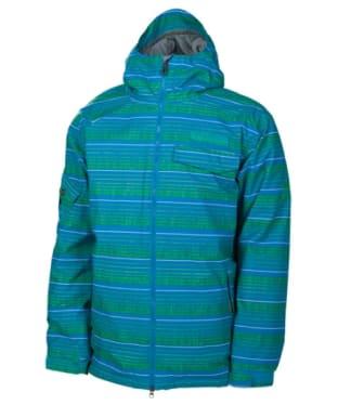 Men's 686 Mannual Etch Snowboard Ski Jacket - Bluebird
