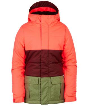 Girl's 686 Polly Snowboard Ski Jacket - Electric Poppy
