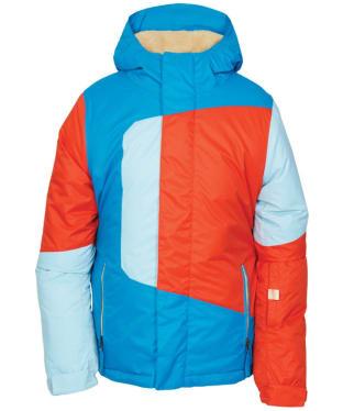 Boy's 686 Blaze Snowboard Ski Jacket - Blue