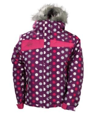 Girl's 686 Mannual Gidget Puffy Ski Jacket - Plum