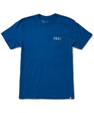 Men's Reef Circle T-Shirt - Blue