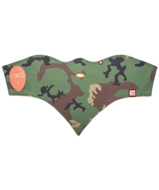 Airhole S1 Standard 2 Layer Graphic Facemask - Woodland