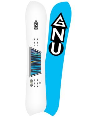 GNU Zoi Goofy Snowboard 158cm - White