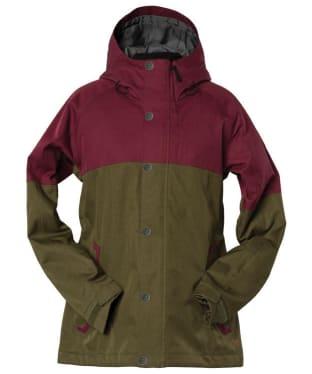 Women's Bonfire Limmy Snowboard Jacket - Port
