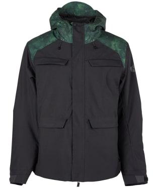 Men's Bonfire Structure Snowboard Jacket - Black
