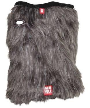 Airhole Airtube Cinch Glacier Fur Facemask - Wolf