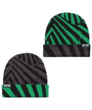 Flow Chunker Beanie Hat - Black