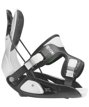 Kid's Flow Micron Snowboard Bindings - White