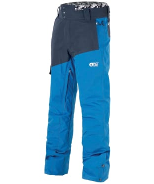 Men's Picture Panel Snowboard Pants - Blue