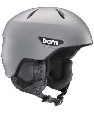 Bern Weston Zipmold Snowboard Helmet - Matte Grey