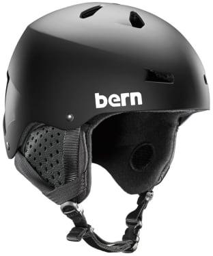 Bern Macon EPS Thin Shell Snowboard Helmet - Matte Black