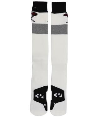 Women's ThirtyTwo ASI Signature Snowboard Socks - Black / Grey