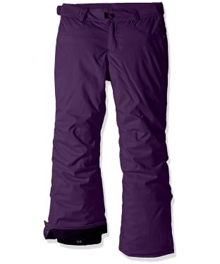 Girl's 686 Elsa Snowboard Pants - Purple