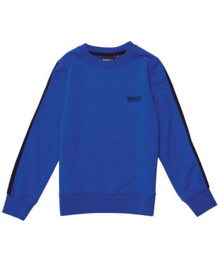 Boy's Barbour International Tape Sweater – 6-9yrs - Atlantic Blue
