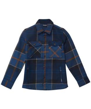 Boy's Barbour Tartan Overshirt - 6-9yrs - Midnight Tartan