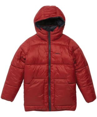 Boy's Barbour Hike Quilted Jacket - 6-9yrs - Biking Red