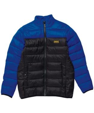Boy's Barbour International Borough Quilt - 6-9yrs - Cobalt Blue