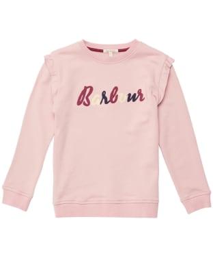 Girl's Barbour Otterburn Frill Overlayer – 10-15yrs - Secret Pink