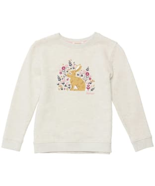 Girl's Barbour Ava Overlayer - 6-9yrs - Cloud Marl
