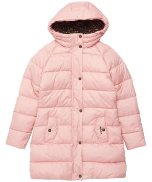 Girl's Barbour Crimdon Quilted Jacket - 6-9yrs - Secret Pink