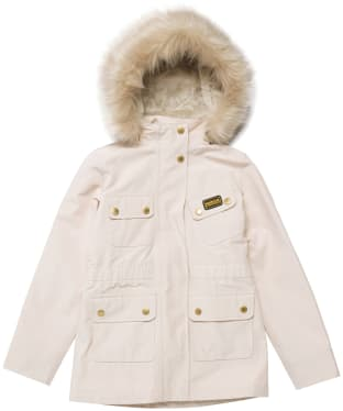 Girl's Barbour International Wanneroo Jacket - 6-9yrs - Champagne