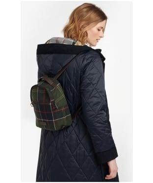 Women's Barbour Caley Tartan Backpack - Classic Tartan