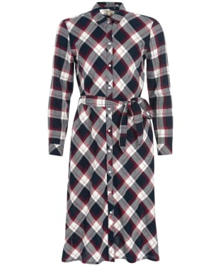 Women's Barbour Lynemouth Dress - Navy Check
