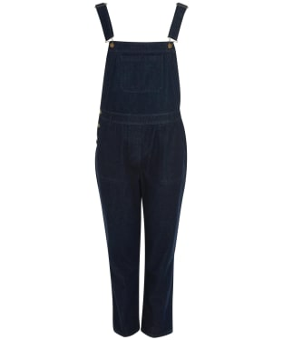 Women's Barbour Foxton Dungarees - Rinse