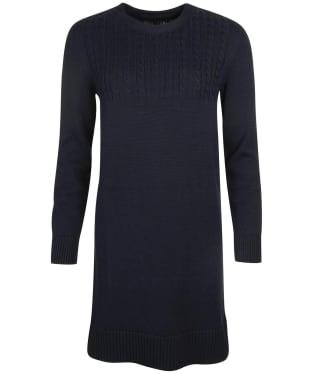 Women's Barbour Stitch Guernsey Dress - Navy