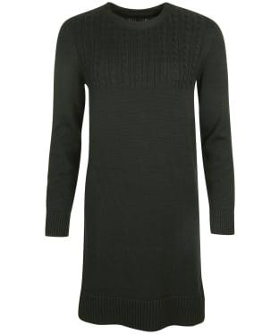 Women's Barbour Stitch Guernsey Dress - Olive