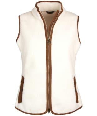 Women's Barbour Burford Fleece Gilet - Winter Pearl