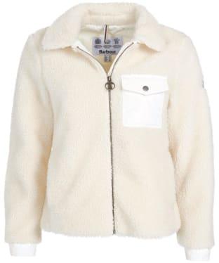 Women's Barbour Birling Fleece Jacket - Cloud