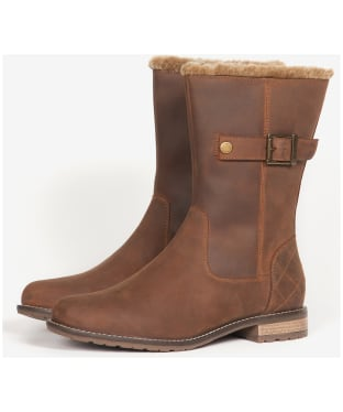 Women's Barbour Clare Boots - Timber Tan