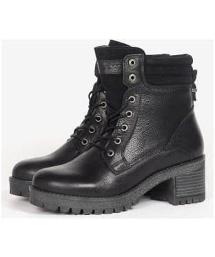 Women's Barbour Stark Ankle Boots - Black